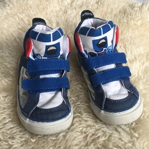 babyGap | Star Wars Hi-Top Sneaker, toddler size 7